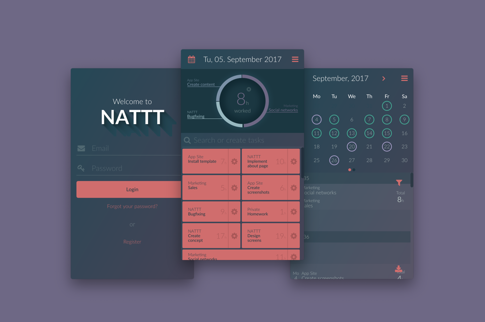 NATTT - Not Another Time Tracking Tool